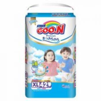 Bỉm - Tã quần Goon Premium size XL 42 miếng cho bé 12-17kg