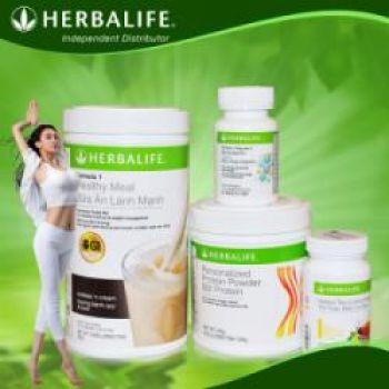 Herbalife - Bộ giảm cân nâng cao bao gồm 4 sản phẩm (F1, PPP, F2, Trà)