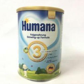 Sữa Humana Gold 3 - 800 gr: sữa công thức cho bé từ 1-9 tuổi