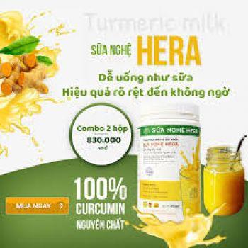 Sữa tinh nghệ Hera 500g