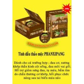 tinh dầu soa bóp phanxipang