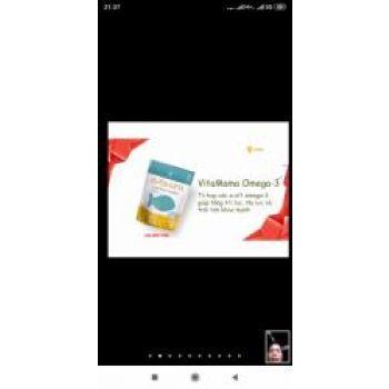 Vitamama Omega 3_sản phẩm của tập đoàn SIBERIAN WELLNESS _Liên Bang Nga
