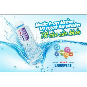 Nước Uống i-on Kiềm 500ml