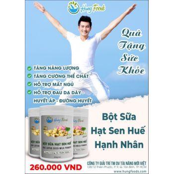 Bột sữa hạt sen Hung Food