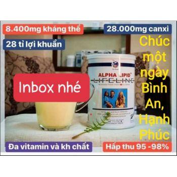 Sữa Alpha Lipid