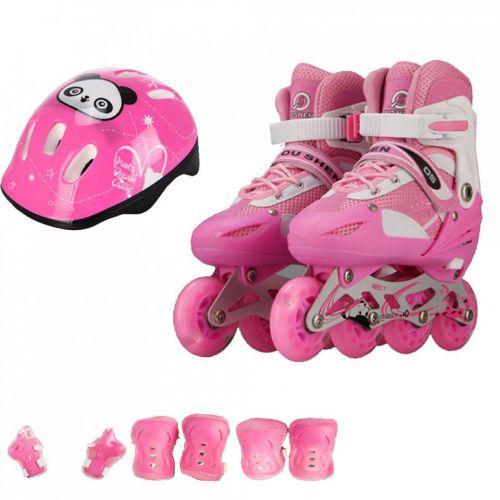 Combo giầy trượt patin - bánh xe phát sáng