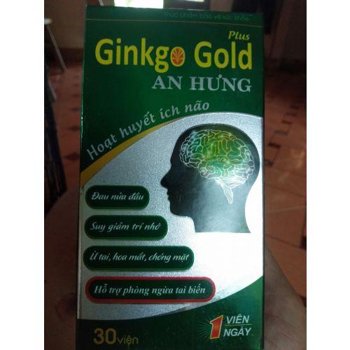 Thực phẩm chức năng Ginko gold An Hưng