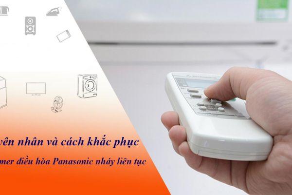 Nguyên nhân và cách khắc phục đèn timer điều hòa Panasonic nháy liên tục